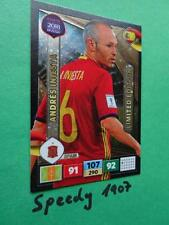 Panini Road To RUSSIA 2018 Fifa World Cup Limited Edition Iniesta Adrenalyn
