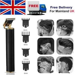 Electric Hair Cutting Outliner Clipper T-Blade Trimmer Baldheaded For Home DIY