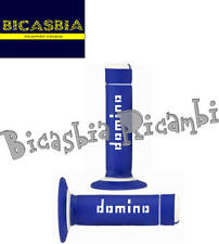 8572 -  COPPIA MANOPOLE BLU BIANCHE DOMINO BI-COMPOSITE CROSS