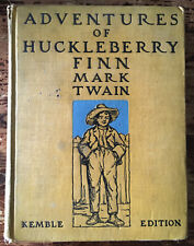 The Kemble Edition of HUCKLEBERRY FINN 1927 Hardcover