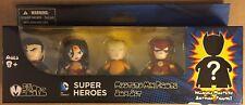 Justice League 5 Pack Barnes & Noble Exclusive 2 Inch Mezitz Mini Action Figures