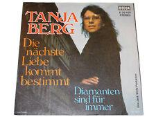 Tanja Berg DIAMANTEN SIND FÜR IMMER und DIE NÄCHSTE LIEBE KOMMT BESTIMMT Single