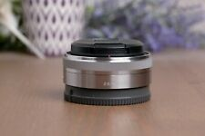 Sony 16mm f/2.8 Wide-Angle E Mount Lens SEL16F28 with Caps