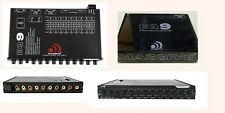 Massive Audio Eq9 9 Band Graphic Equalizer Aux Inputs - 7V Rca Outputs Brand New