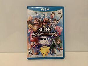 Super Smash Bros. (Wii U, 2014) Complete
