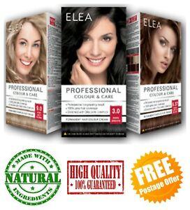 Permanent Cream Hair Dye Elea Professional Colour 100% Grey Hair Coverage