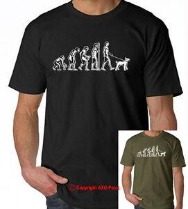 English Bull Terrier Evolution of Human  t-shirt, tee