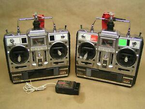 2 ea. FUTABA FP-T5UAP TX's, PCM/1024, + 8 ch. receiver, NO batteries or chargers