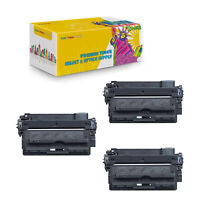 Compatible 3-Pack Q7551X Black Toner Cartridge For HP LaserJet M3027 M3027x M303
