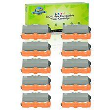 10PK TN750 Toner For Brother MFC-8520DN 8710DW 8510DN 8515DN HL-5450DN 5470DW