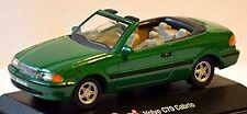 Volvo C70 Type De Convertible: n 1998-2002 vert vert métallisé 1:72 Schuco