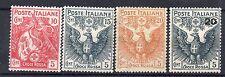 FRANCOBOLLI 1915/16 REGNO CROCE ROSSA MNH D/8306