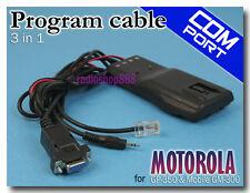 Prog cable for MOTOROLA GP-350 & Mobile GM-300 (6-040)