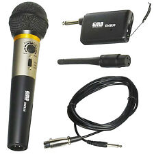 EMB EMB-35 UHF Wireless Handheld Microphone System with Rechargeable Receiver
