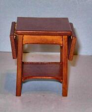 Jbm Miniatures Drop Leaf Table Walnut Dollhouse Furniture Miniatures