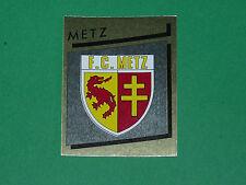 N°163 BADGE ECUSSON FC METZ LORRAINE PANINI FOOTBALL FOOT 89 1988-1989