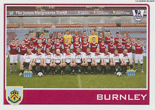 N°109 BURNLEY.FC  TEAM Premier League 2009-2010 TOPPS STICKER VIGNETTE