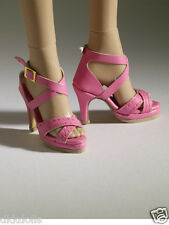 Tonner Nu Mood Pink Sandal High Heel 2 Doll Shoes 2012, New, fit Wentworth Body
