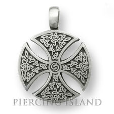 Ritterkreuz Kreuz Tribal Tattoo Celtic Amulett Design PP007