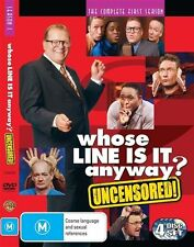 Whose Line is it Anyway? : Season 1 (DVD, 2009, 4 discs) RARE & CLOSE TO NEW