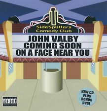 JOHN VALBY-COMING SOON ON A FACE NEAR YOU - CD/DVD
