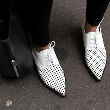 Stella McCartney white Oxford Brogues Shoes UK4 /EU37 Flats