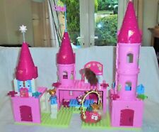 LEGO DUPLO 4820 PINK PRINCESS CASTLE WITH ACCESSORIES & FIGURES HARD TO FIND