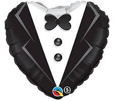 Balón Matrimonio en Mylar Corazón Novio 46cm 03462
