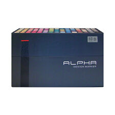 Graphic Art Marker Alpha Design Marker Twin Tip 60B Color illustration Animation
