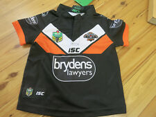 WEST TIGERS 2016 HOME JERSEY toddler size 2    BNWT (1 ONLY)
