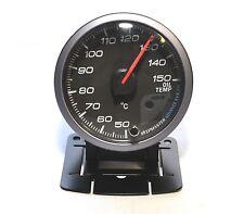 60mm Black Oil Temperature Gauge - Patrol Hilux Diesel 4x4 4WD Car Automotive