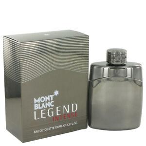 Montblanc Legend Intense Cologne For Men 3.4oz/100ml Eau De Toilette Spray