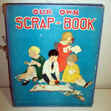 ANTIQUE 1925 OUR OWN SCRAP-BOOK STOLL & EDWARDS CO INC PICTURES
