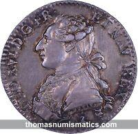FRANCE - Louis XVI - 1/5  Ecu 1782 A - Var 2/1 - SUP+