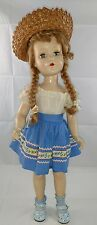 "Vintage R&B Arranbee doll Teen 20"" hard plastic"