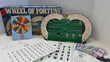 Vintage 1985 Wheel of Fortune Board Game ~ 100% Complete #5555