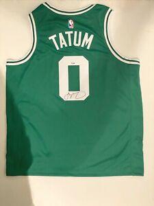 Jayson Tatum Signed Boston Celtics Autographed Nike NBA Swingman Jersey FANATICS