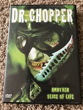 Dr. Chopper (Dvd, 2005, Slasher, Horror) Very Rare, Oop, Hard To Find