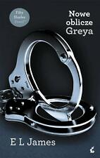 Nowe oblicze Greya - E.L. James wysyłka z UK polish book polska książka