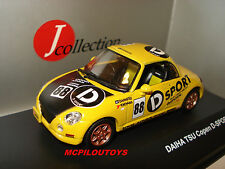 J-collection jc158 daihatsu copen d-sport yellow 2002 to 1/43 °