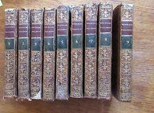 HISTOIRE PHILOSOPHIQUE ET POLITIQUE DES DEUX INDES Texte complet en 9 vol. 1783