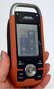 Magellan Triton 1500 Hiking GPS Unit 3D USA/Canada Maps geocache waterproof -B-