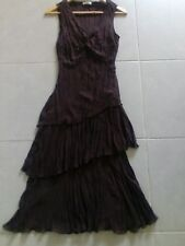 George Cocktail Dress Onesize color Brown
