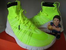 Nike Free Mercurial Superfly HTM Volt Size 11.5 689466-711 Flyknit CR7 VNDS