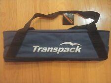 Transpack Classic Series Ski Bag - Single Pair Carrier Max Ski Size 182 Navy