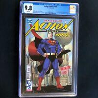 Action Comics #1000 (DC 2018) 💥 CGC 9.8 💥 Jim Lee Superman Cover! Comic