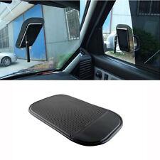 2x Car Dashboard Magic Anti-Slip Non-slip Mat Sticky Pad iPhone key Holder Black