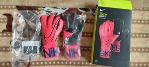 Nike Vapor Grip 3. GK GR.9 Torwarthandschuhe Rot Neu