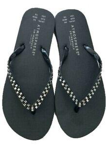 Ladies Flip Flops Jelly Flipflop Womens Light Sandals Thongs slipper Shoes Sizes