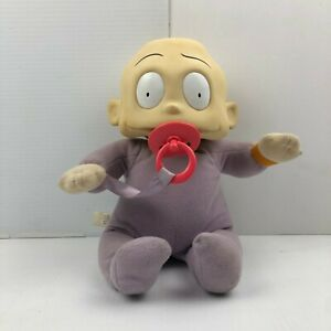 Vintage Rugrats Baby Dil Pickles Stop My Hiccups Plush Doll Mattel Nickelodeon!